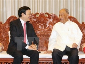 VN, Laos pledge to foster traditional friendship  - ảnh 1