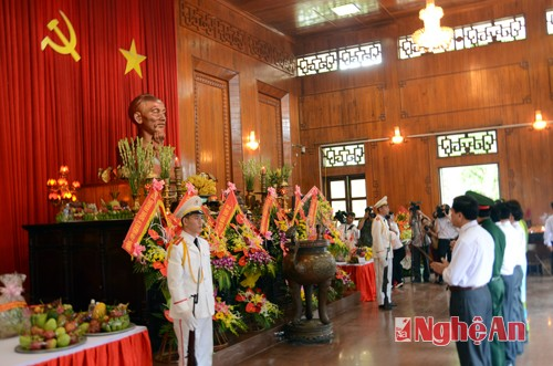 Nghe An organizes death anniversary of President Ho Chi Minh  - ảnh 1