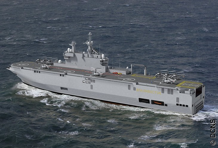 Russia approves Mistral carrier sale to Egypt, UAE - ảnh 1