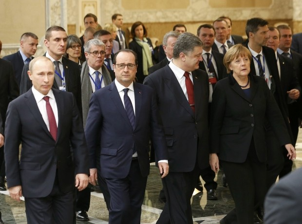 'Normandy Four' leaders agree to meet in October in Paris - ảnh 1