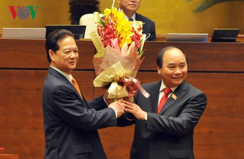 Mr. Nguyen Xuan Phuc elected Prime Minister - ảnh 2