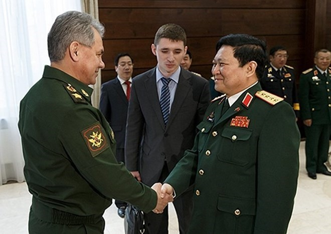 Vietnam, Russia to beef up defence ties - ảnh 1