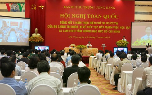 Movement to follow President Ho Chi Minh's moral example reviewed  - ảnh 2