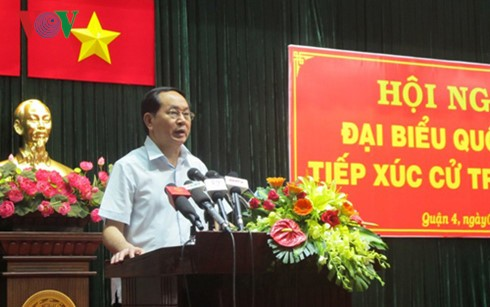 President calls for efforts to raise national and corporate competitiveness  - ảnh 1