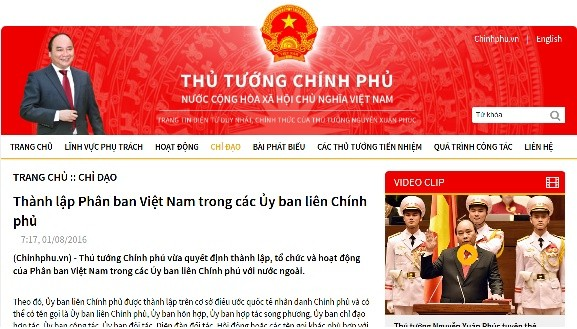 Vietnam subcommittees formed under intergovernmental committees - ảnh 1