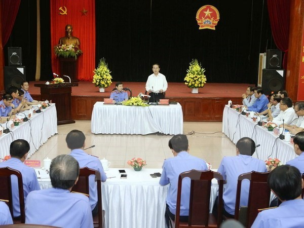 President Tran Dai Quang works with the Supreme People's Procuracy - ảnh 1