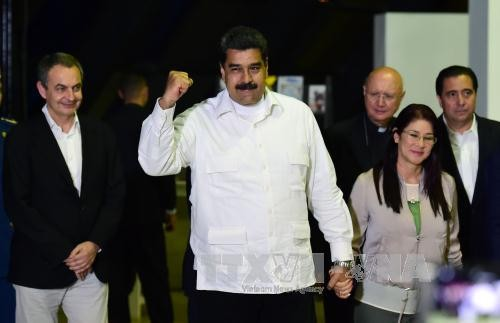 Venezuela's President welcomes goodwill by the opposition - ảnh 1