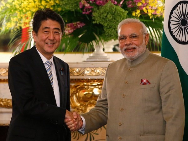 Indian PM Modi: Indian-Japanese strong relations help stabilize the region - ảnh 1