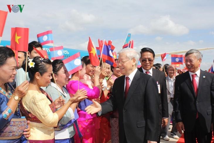 Vietnam-Laos Joint Declaration   - ảnh 1