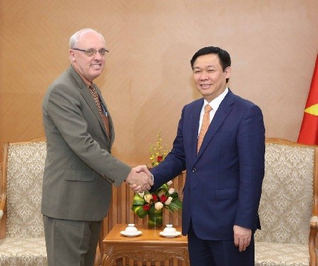 Deputy PM welcomes US public policy professor - ảnh 1