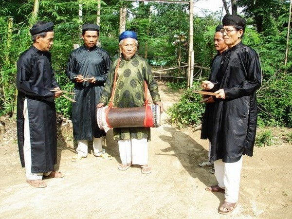 """Sac bua"" singing recognized as national intangible cultural heritage - ảnh 1"