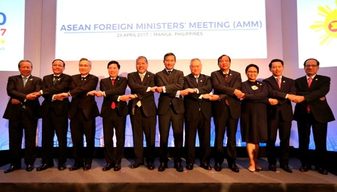 ASEAN foreign ministers' joint statement on Korean Peninsula - ảnh 1