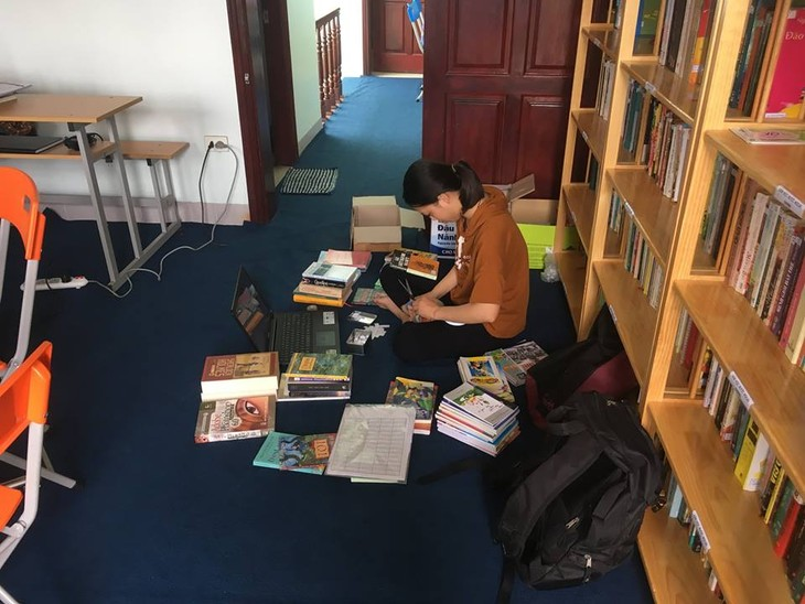 Bfree library boosts reading habit - ảnh 2