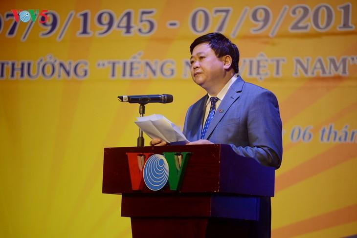 VOV marks 72nd founding anniversary - ảnh 1