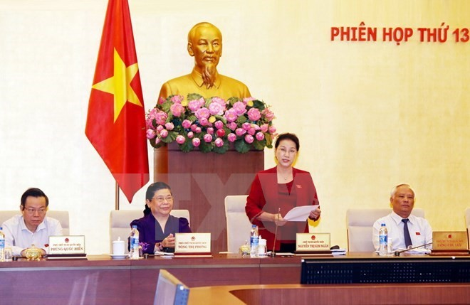 National Assembly Standing Committee to convene 14th session - ảnh 1