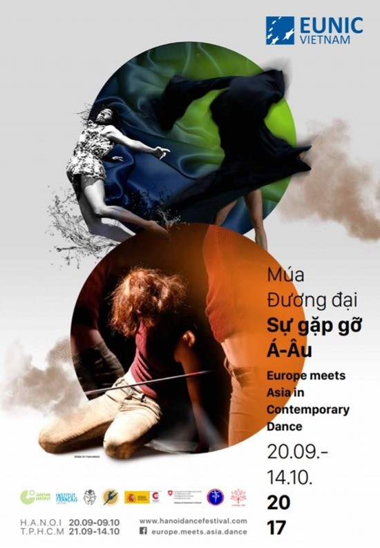 "Hanoi to host ""Europe Meets Asia in Contemporary Dance"" Festival 2017 - ảnh 1"