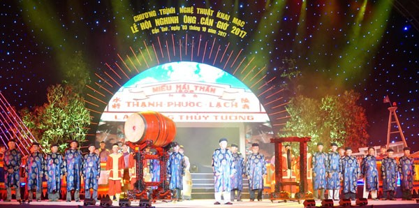 Nghinh Ong Festival in Can Gio opens - ảnh 1