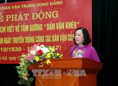 Writing contest on mass mobilization role models launched - ảnh 1