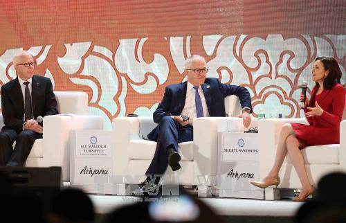 APEC CEO Summit dialogues address resource efficiency, sustainable growth - ảnh 1