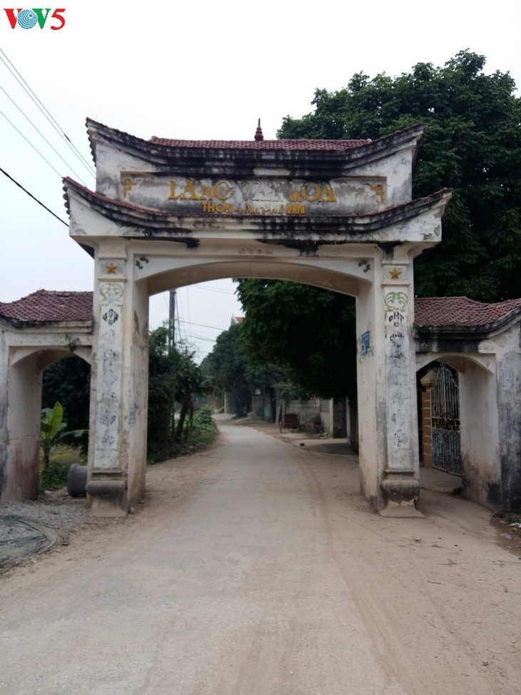 Phu Van village combines horticulture and tourism  - ảnh 1