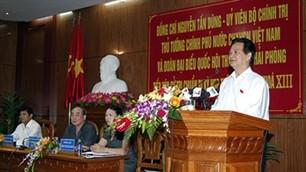 ズン首相、トイグェン県の有権者と会合 - ảnh 1