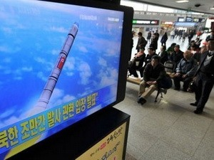 日米韓、朝鮮民主主義人民共和国への対応を協議 - ảnh 1