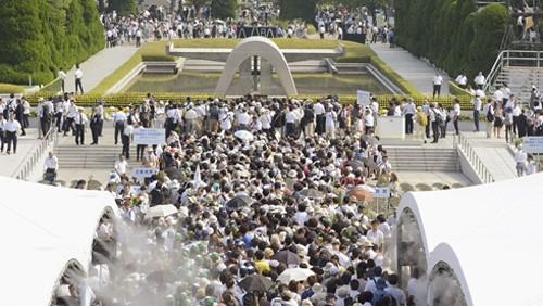 広島原爆の日 - ảnh 1