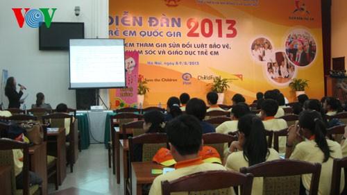 ハノイで国家児童フォーラム2013が開幕(2) - ảnh 1