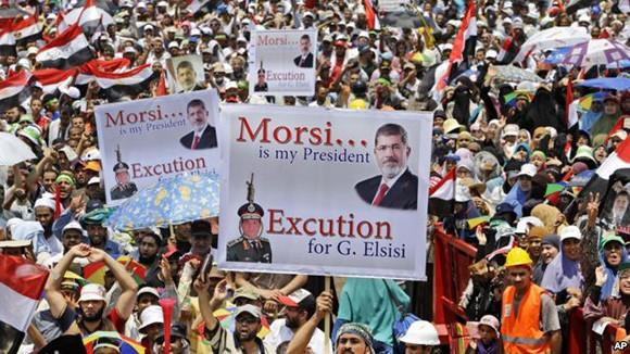 エジプト、モルシ前大統領の拘束を延長 - ảnh 1