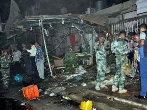 イラク 爆発テロ相次ぐ - ảnh 1