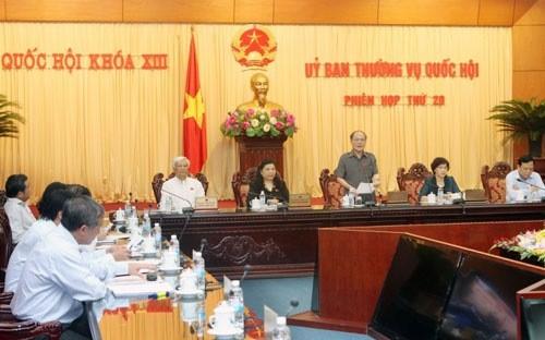 国会常務委会議、税関法改正案を討議 - ảnh 1