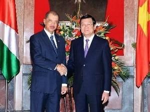 セイシェルの大統領、ベトナム公式訪問を終了 - ảnh 1