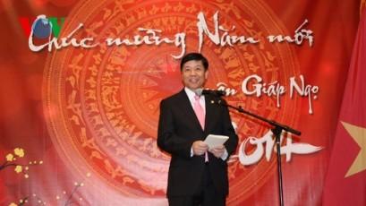 国外駐在ベトナム大使館、テトを祝う式典を開催(続く) - ảnh 1