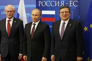 EU・ロシア関係冷え込む 首脳会議短縮 - ảnh 1