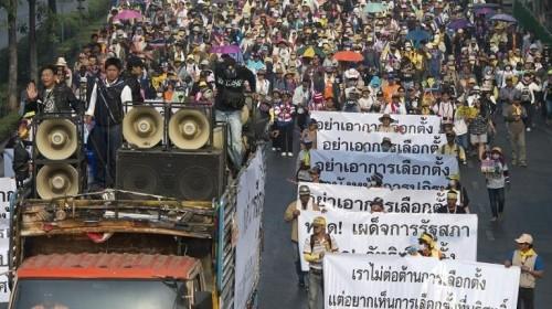 タイが2月2日に総選挙実施、選管の延期要請押し切る - ảnh 1