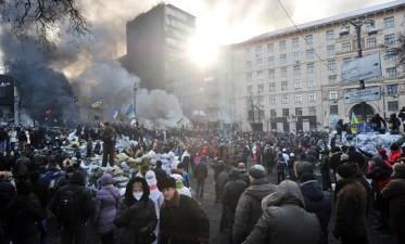 ウクライナ内閣が総辞職、デモ規制法は廃止 - ảnh 1
