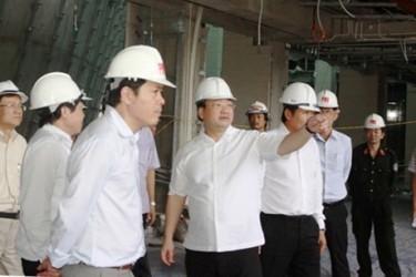 ハイ副首相、国会議事堂の建設現場を視察 - ảnh 1