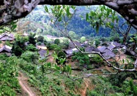 モン族の独特の住居 - ảnh 1