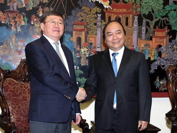 フック副首相、モンゴル外務次官と会見 - ảnh 1