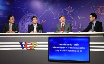 民事法改正案でオンライン座談会が開かれる - ảnh 1