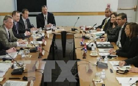 人権で事務レベル協議=国交交渉入り後初-米・キューバ - ảnh 1