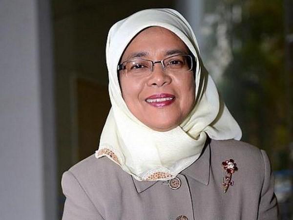 サン主席、シンガポール国会議長と会見 - ảnh 1
