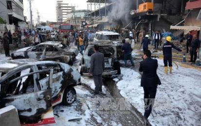 イラク:米総領事館近くで爆発、3人死亡  - ảnh 1