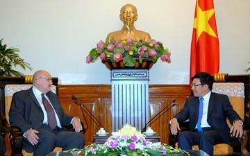 ミン副首相兼外相、在ベトナムロシアやブラジル大使と会見 - ảnh 1
