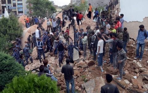 ネパール地震:死者5100人超える 負傷者も1万人以上 - ảnh 1