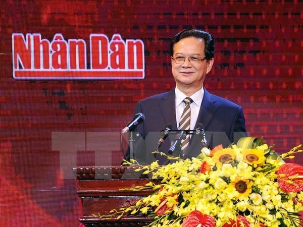 ズン首相、『ニャンザン』(人民)テレビチャンネルの開設式に出席 - ảnh 1