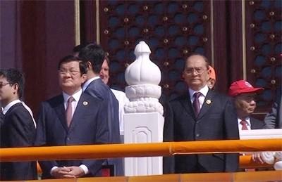 サン国家主席、反ファシスト戦勝70周年記念式典に列席 - ảnh 1