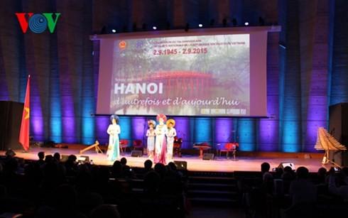 パリで「昔と現在のハノイ」音楽会 - ảnh 1