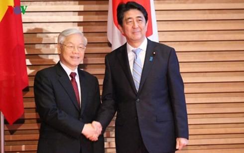 日本のマスメディア 日越関係を評価 - ảnh 1
