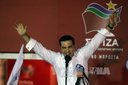ギリシャ議会選 与党が半数近い議席獲得 - ảnh 1